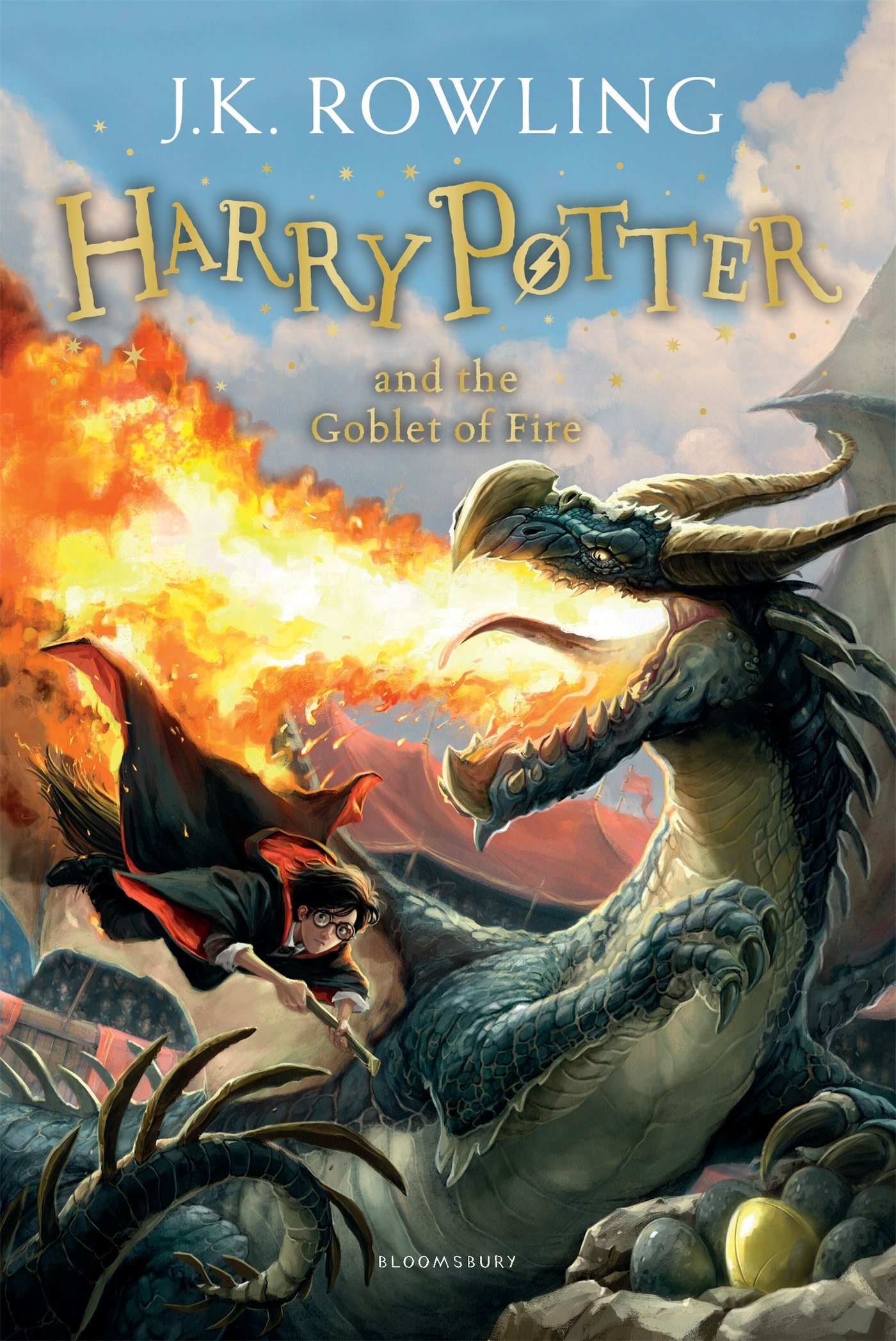 Harry Potter and the Goblet of Fire Novel by J. K. Rowling