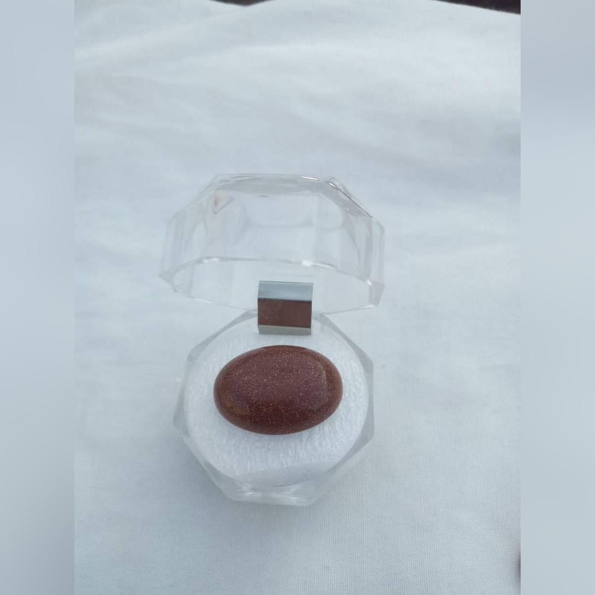 Sunge Sitara Gemstone – (Sun Stone) Brown Gemstone