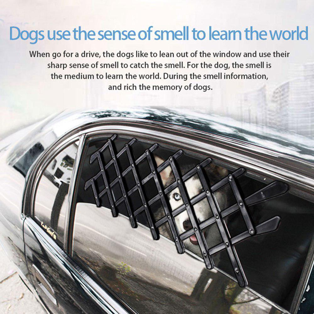 Car Pet Fence Side Window Guard Protective Fence Retractable Fence for Dog  Cat