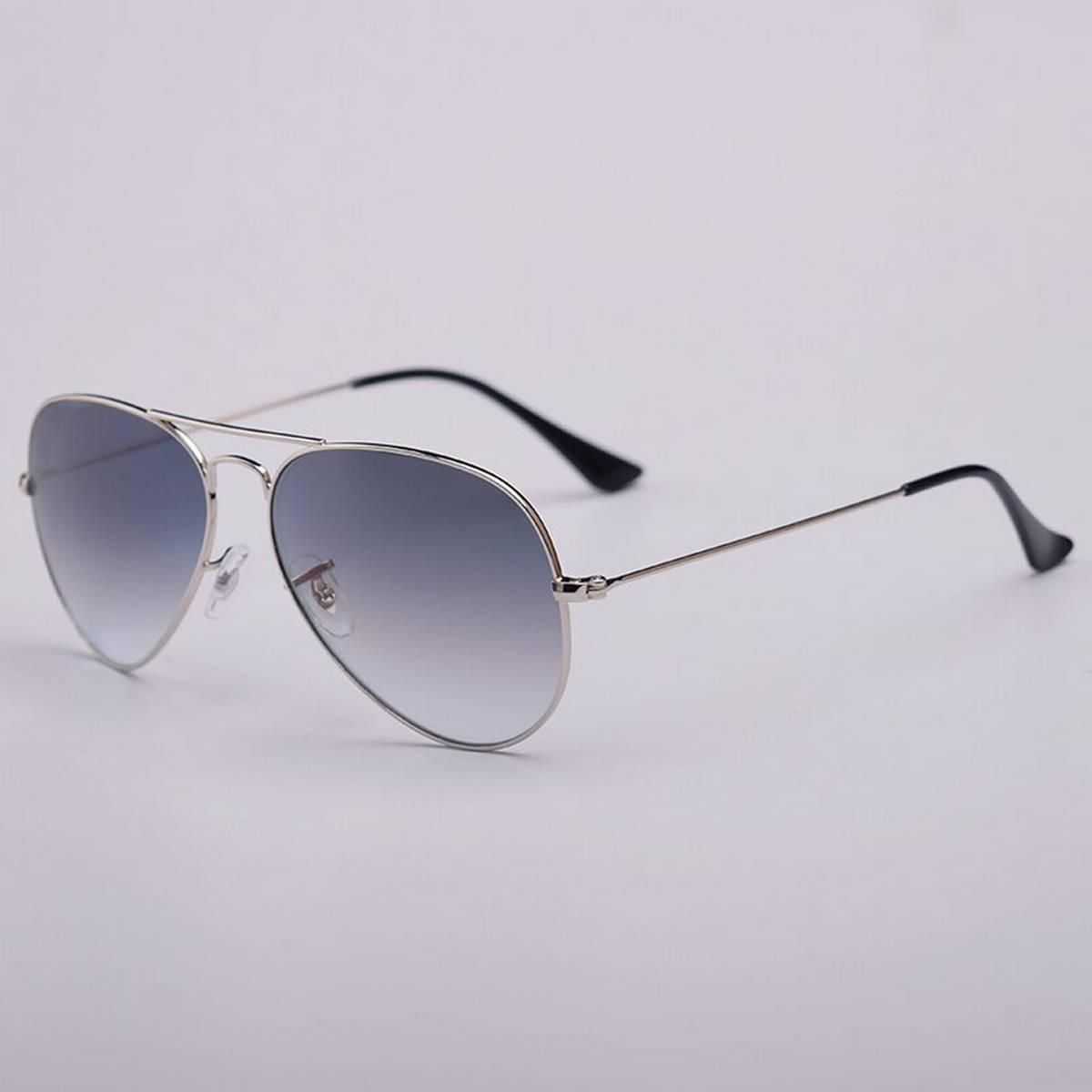 Trendy New Design Aviator Shape Grey Sunglasses- Metal Frame for boys/girls