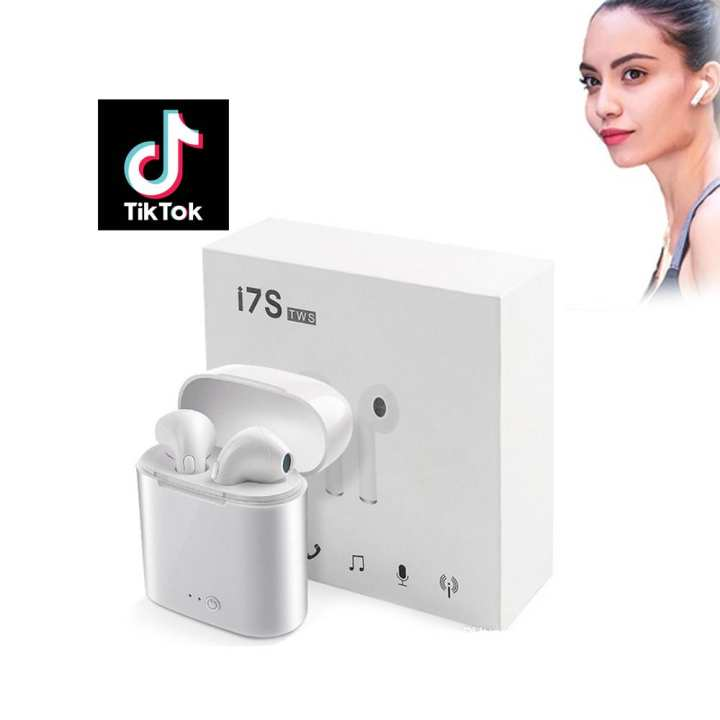 i7s Wireless Earbuds Airpods - Best For TIK TOK Videos
