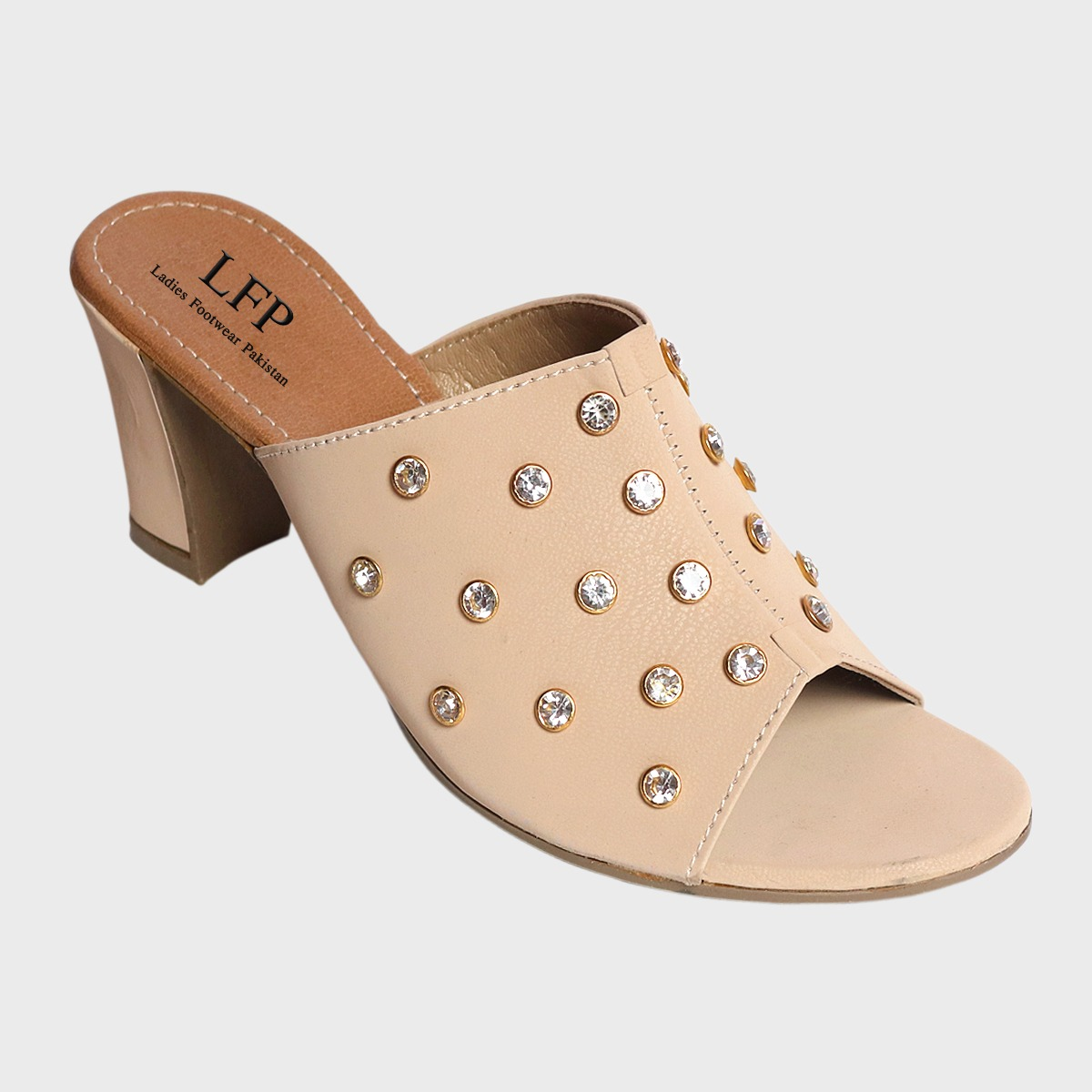 New Stylish Grey Color Flat Sandals for Women