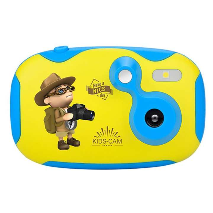 Amkov Children Cartoon Camera 1.44 inch HD Color Screen 0.3MP Camcorder