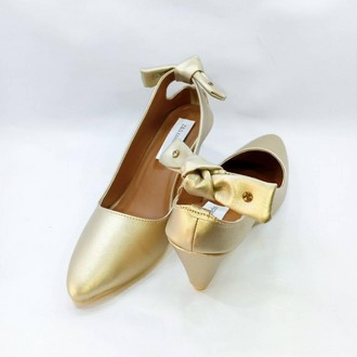Elegant Wedge Heeled Pumps For Women Fashion