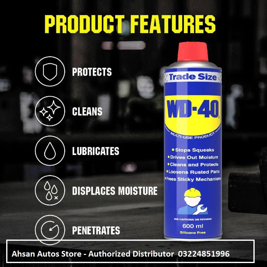 WD40 spray 600 ML MADE IN UK Anti Rust   Zang Remover