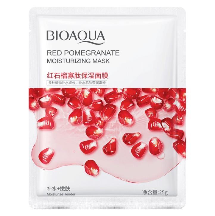 BIOAQUA Pomegranate Moisturizing Skin Care Oil Control Mask-25g