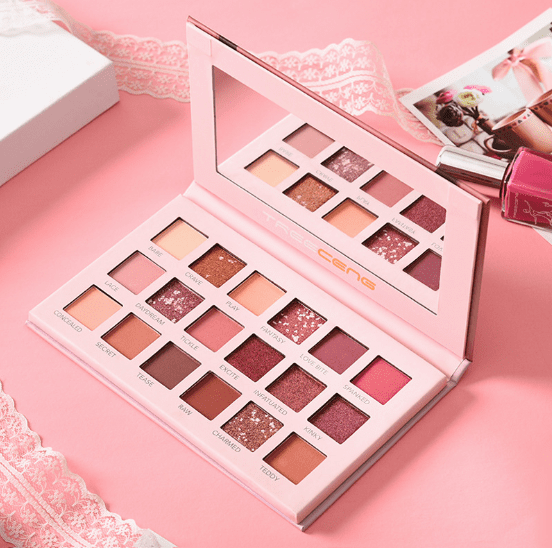 Nude Eyeshadow Palette 18 Colours