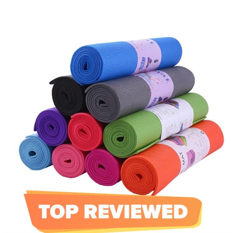 Exercise Mat All-Purpose Extra Thick High Density Anti-Tear Yoga Mat (4mm, 6mm, 10mm)