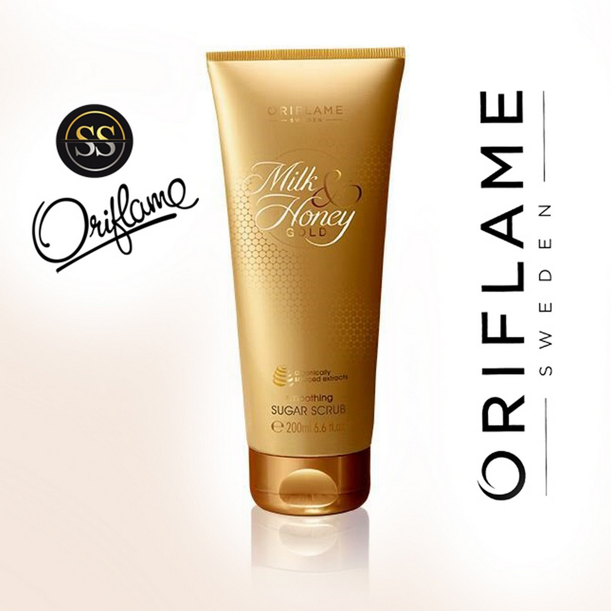 oriflame milk and honey smoothing sugar scrub pack of 20   Online ...