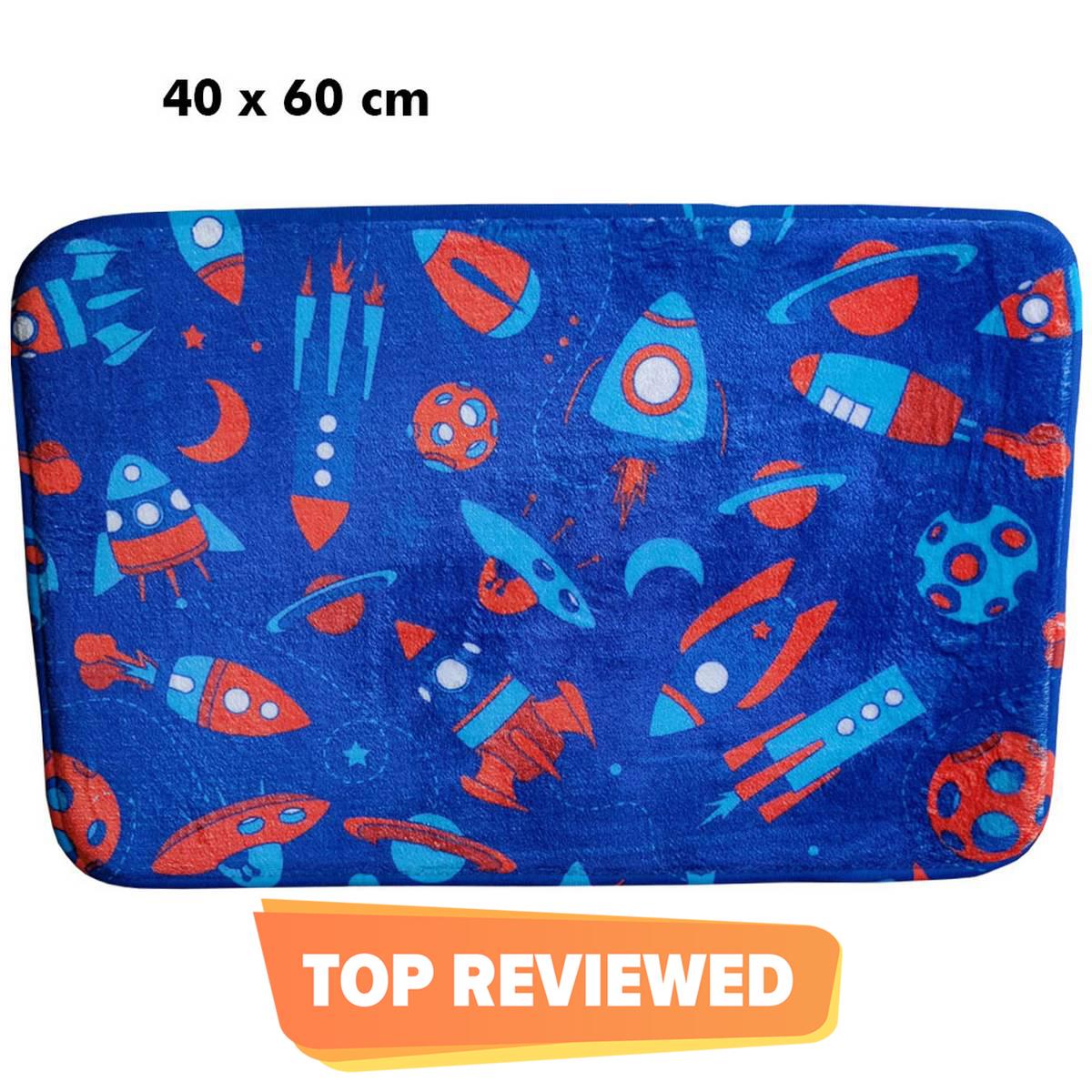Relaxsit Foamy Bath Mats Plain Non Slip,  Memory Foam Bath Carpet, Microfibre  Rectangle Absorbent, size 50 x 80Cm or 40 x 60 cm