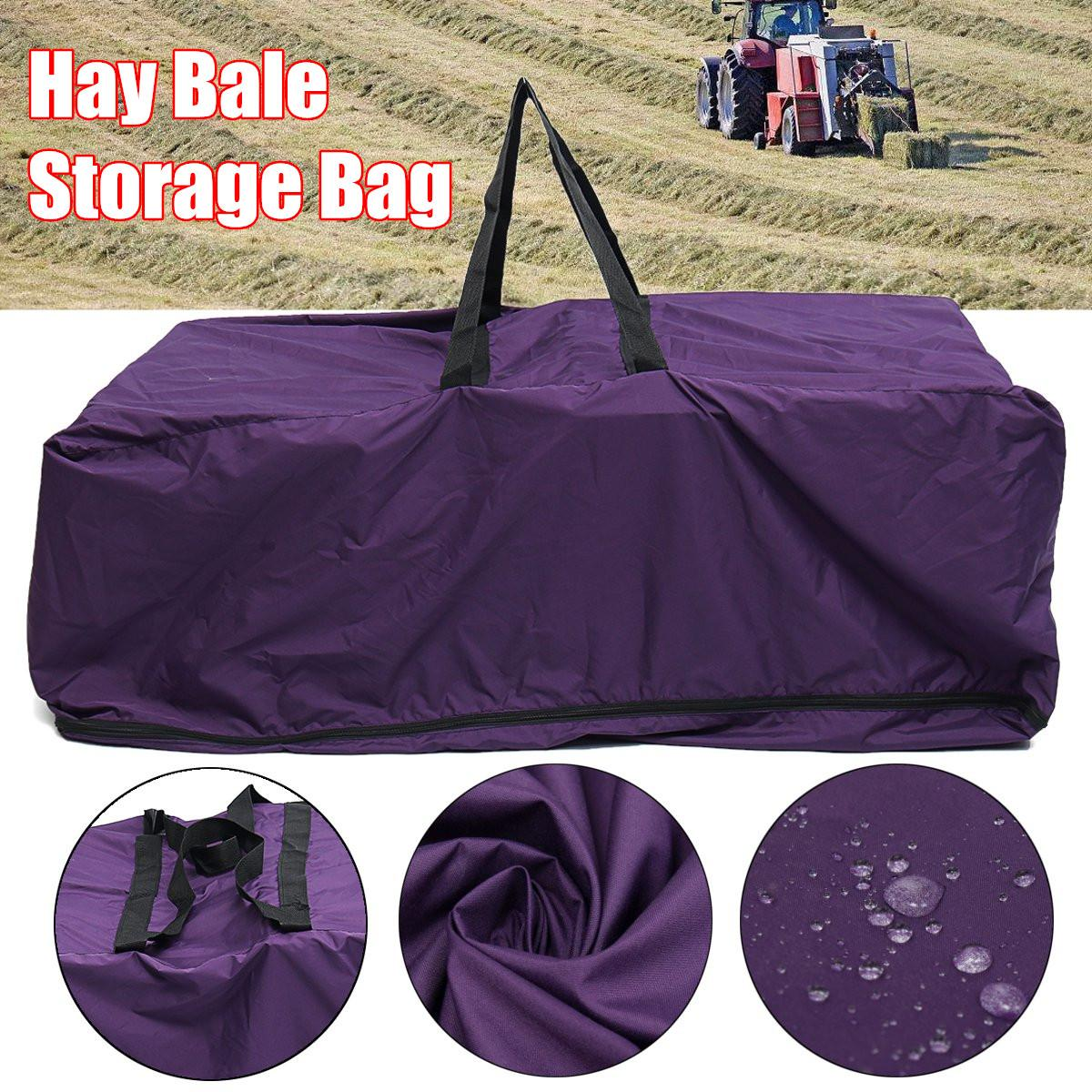 Hay Straw Bale Bag Storage Carry Waterproof Camping Horse Feeder Riding Gear