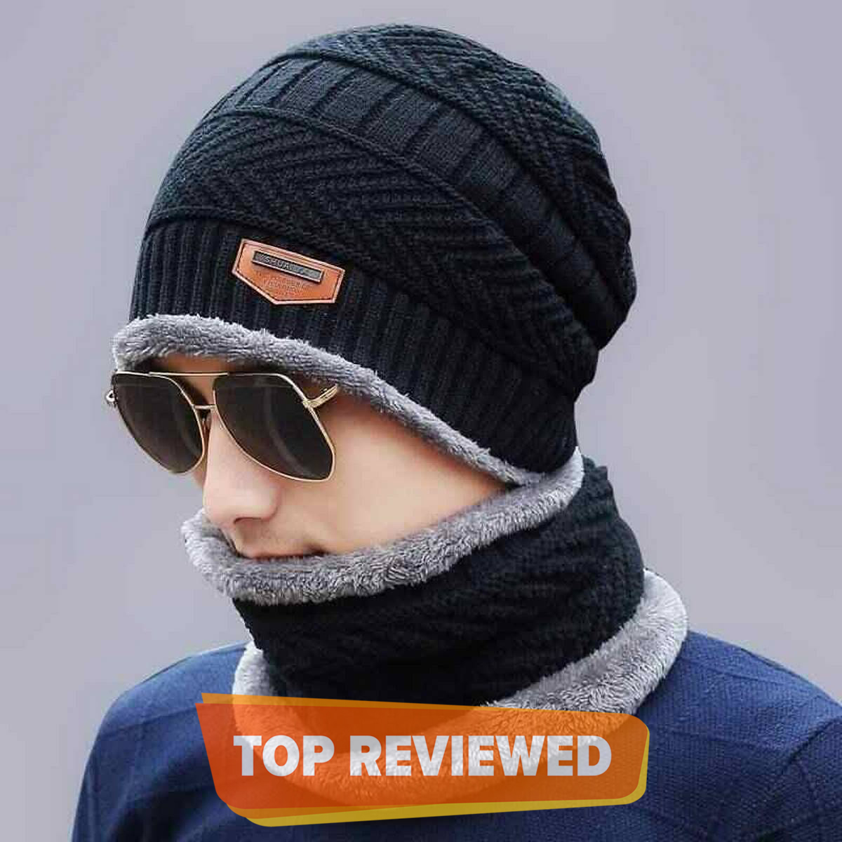 Beanies Knit Hat Winter Cap knitted Cap Thicken Hedging Cap Balaclava Skullies Fashion Warm knit Beanie for Men/Women