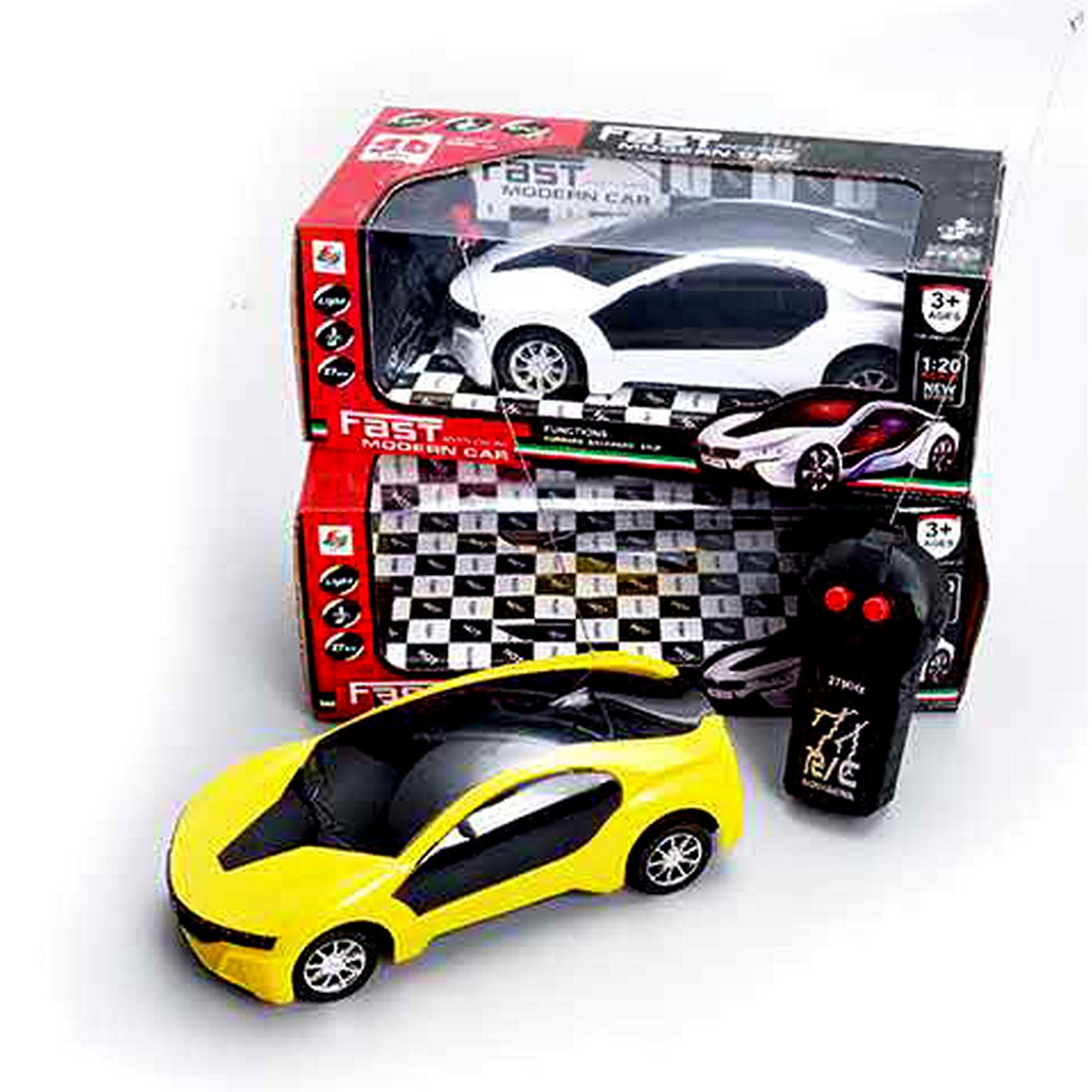 Beautiful Remote Control Car with 3D Lights for Kids