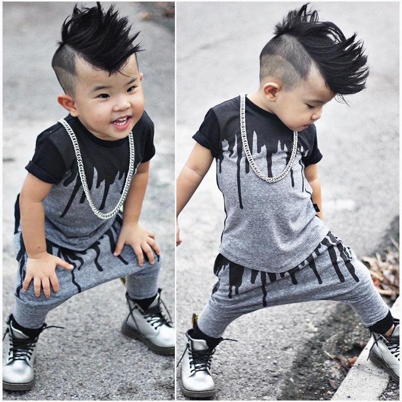 e83e9c656 2pcs Newborn Toddler Infant Kids Baby Boy Clothes T-shirt Tops+Pants  Outfits Set