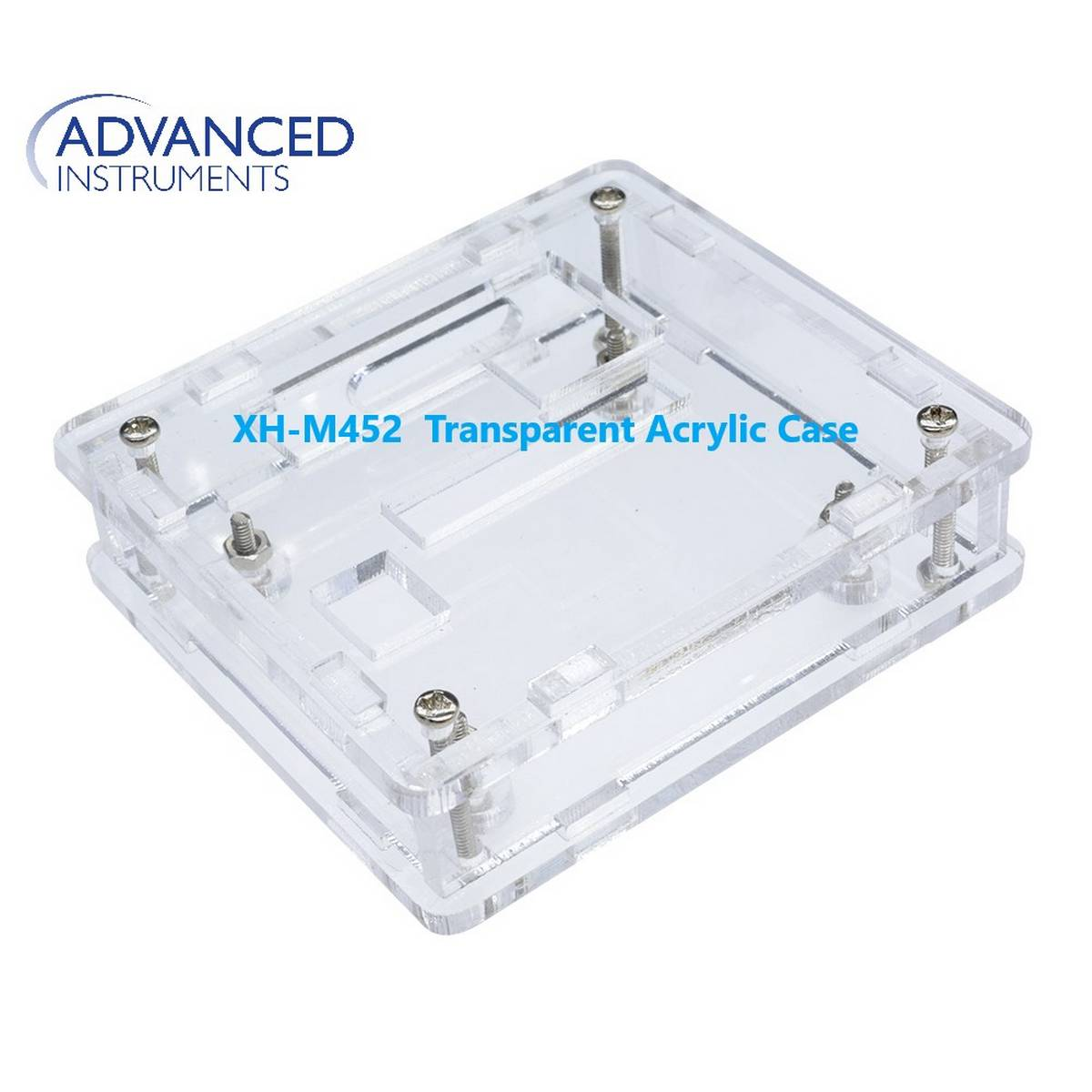 Casing For M452 Temperature & Humidity Controller XH-M452  Transparent Acrylic Case