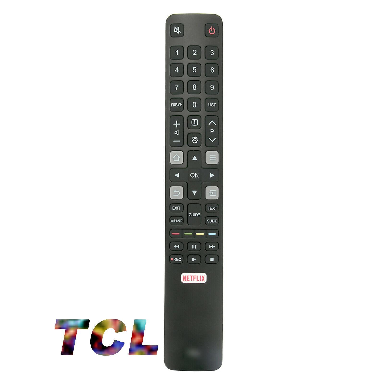 TCL Remote For Android LED With Netflix Button