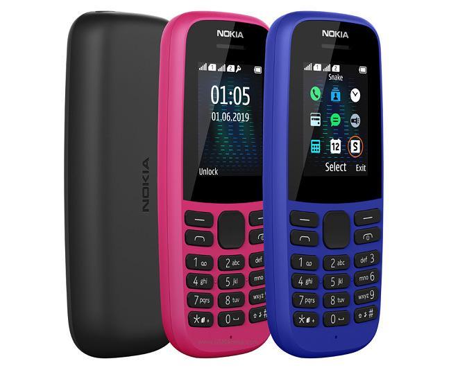 Nokia 105 (2019) - Dual SIM - FM Radio - 800mAh Battery