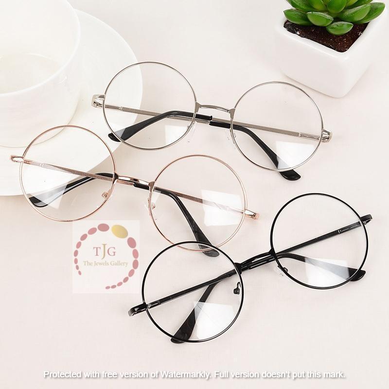 Round Frame Harry Potter Style Glasses For Girls - Sunglasses