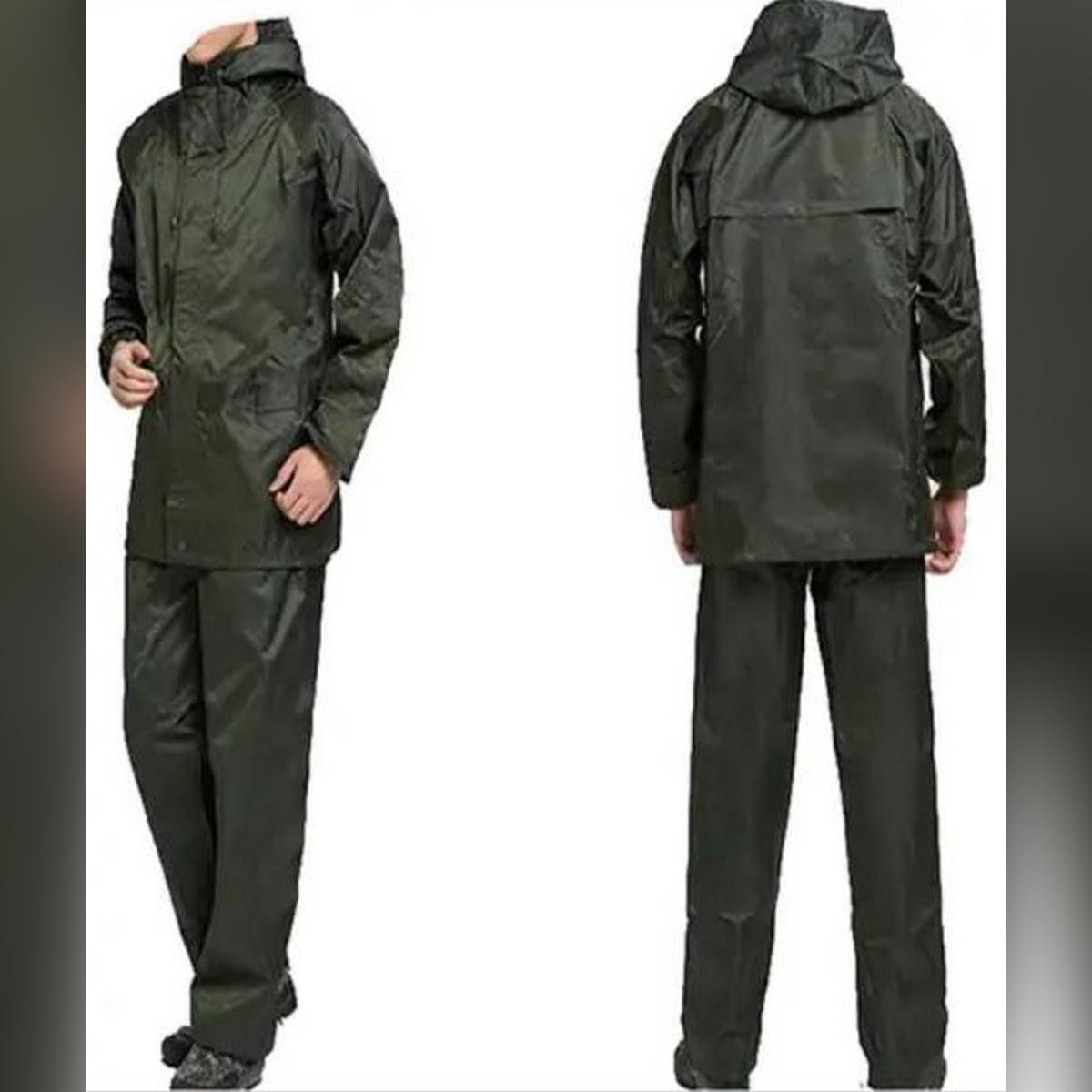 Rainfreem Raincoat Suit Impermeable Women/Men Hooded Motorcycle Poncho Motorcycle Rainwear  Lite Waterproof Rain Suit / Rain Coat / Outdoor Activities / Rain Wear / Bike Suit / Jacket Pant