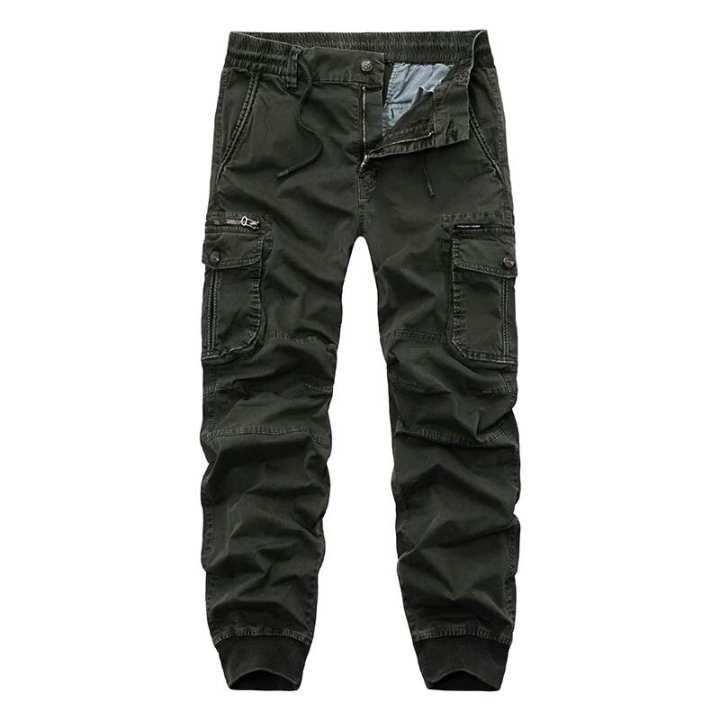 Men trouser olive Ct-014