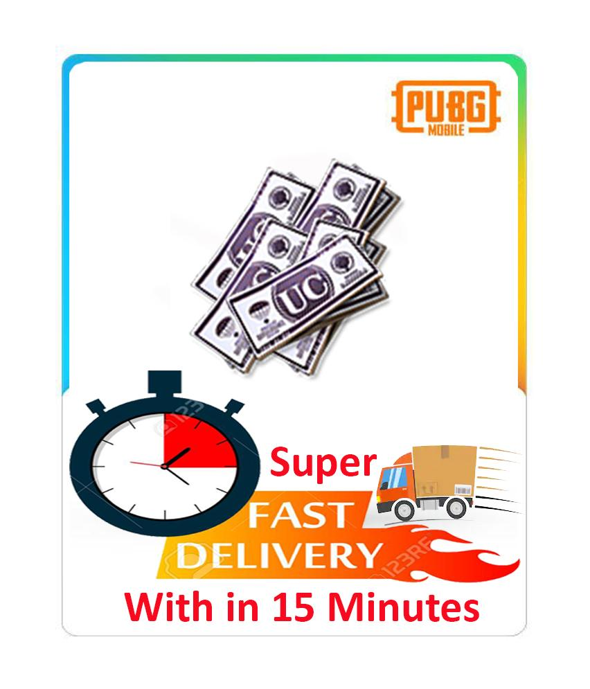 4200 Uc - Pubg Mobile TopUp (Unknown Cash) Instant Fast 15 Minutes Delivery  Guaranteed Super Fast