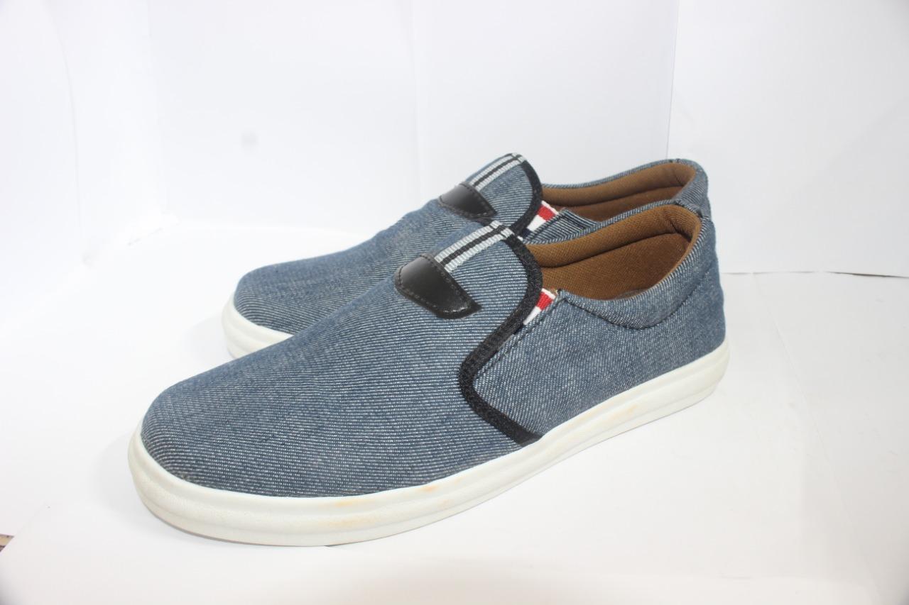 Blue Denim Flat Sneaker - Shoes For Men
