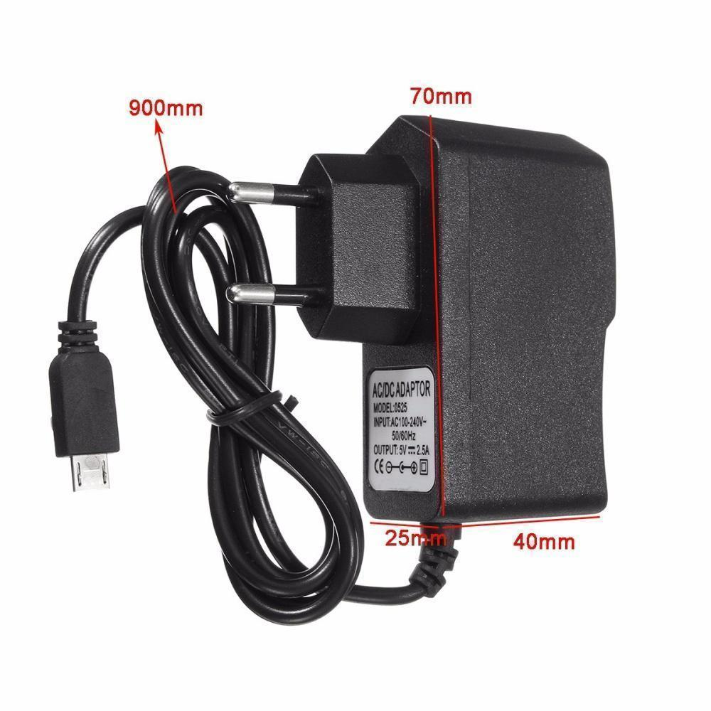 5V 2 5A Micro USB Charger Power Supply Adapter For Raspberry Pi 3 Tablet EU  Plug