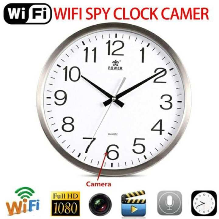 WiFi Wall Clock 1080p