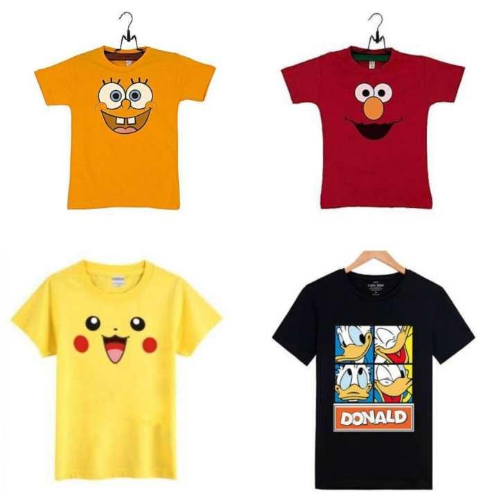 Shazi Pack of 4 Kids T-Shirts