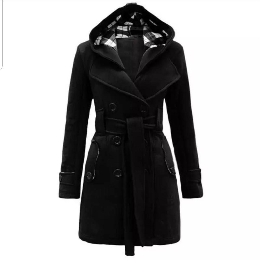 Stylish Two Button Long Coat