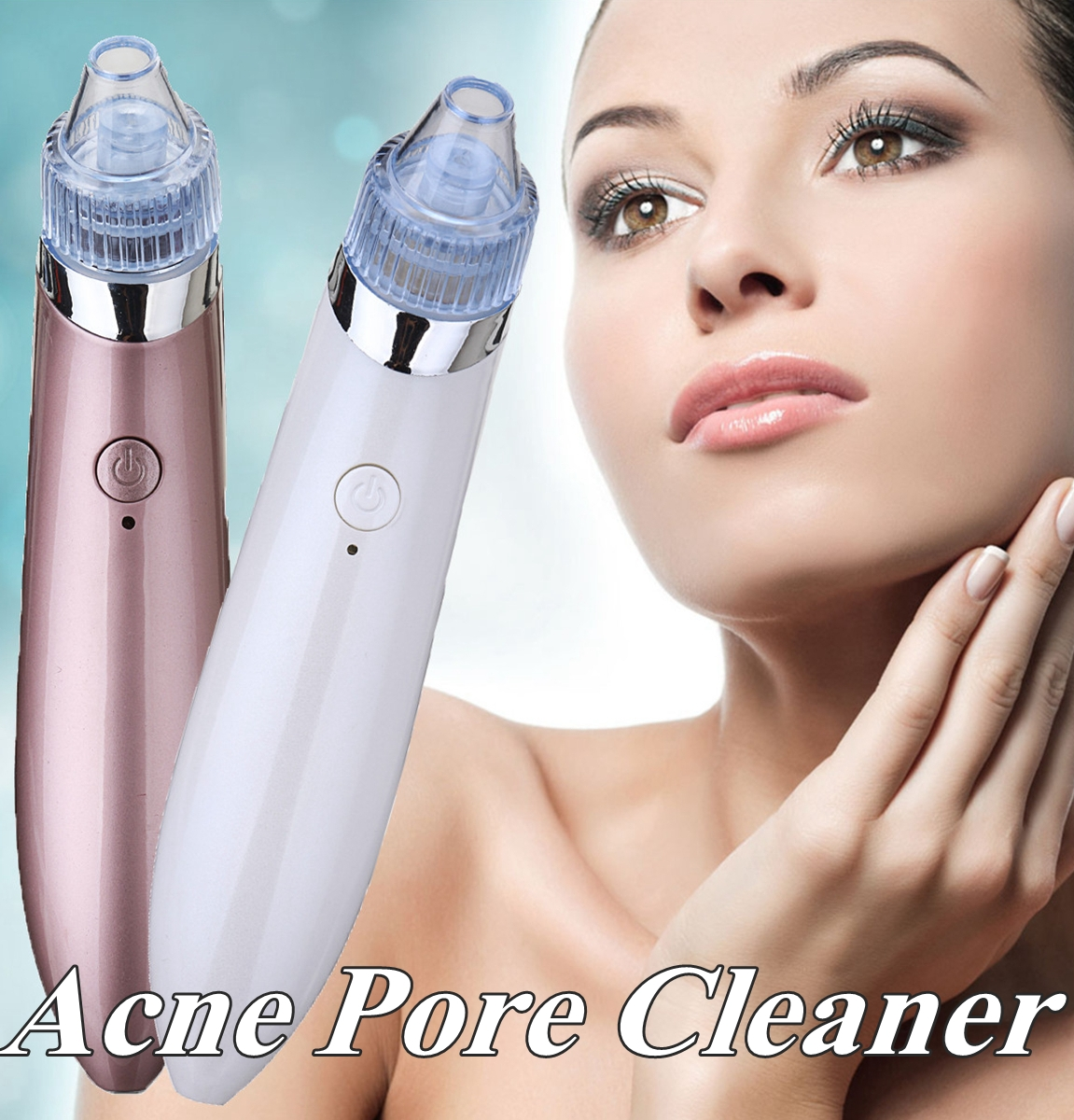 Face Cleaning Vacuum Pore Cleaner Blackhead Remover Acne Pimple Remover Skin Care Tool