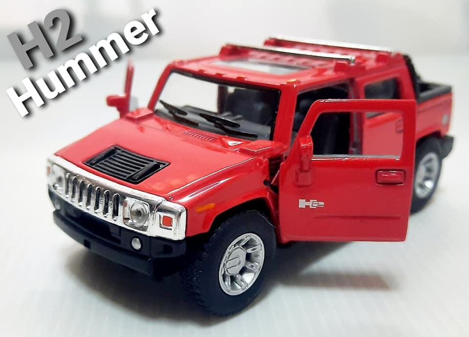 Kinsmart 2005 Hummer H2 SUT Muddy Diecast Model
