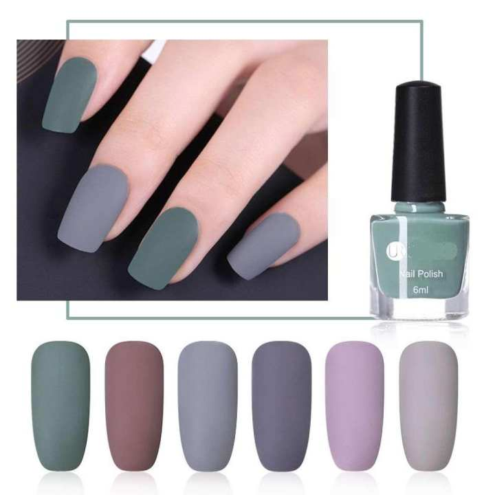 Matte Nail Polish Online: Multicolors By Hit & Fit
