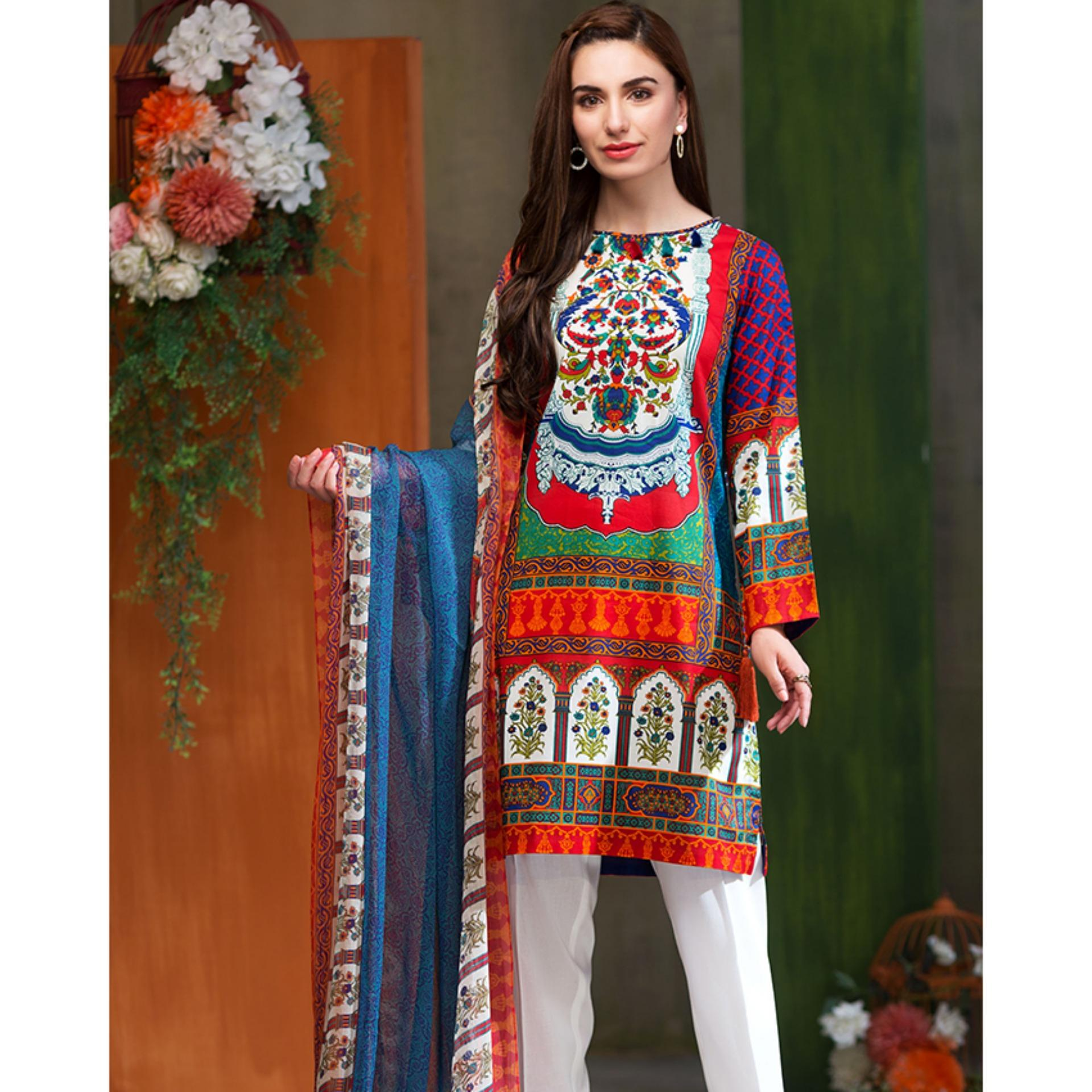 f4bc4a439 Lawn Collection 2019  Pakistani Lawn Dresses - Suits Sale - Daraz.pk