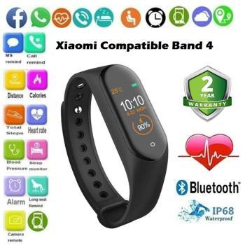 M4 Max IPS Color Screen Wristband
