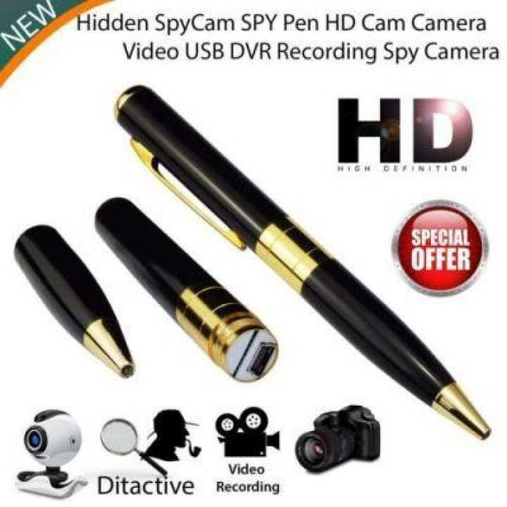 Best Quality Spy Pen Camera - Records audio/video - for security and surveillance -