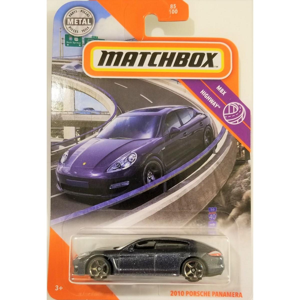 Matchbox 2010 Porsche Panamera - 1/64 scale diecast model