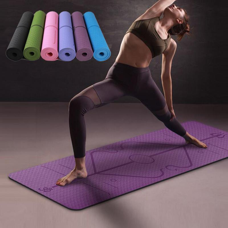 Yoga PVC Sports Exercise & Massage Fitness Mats