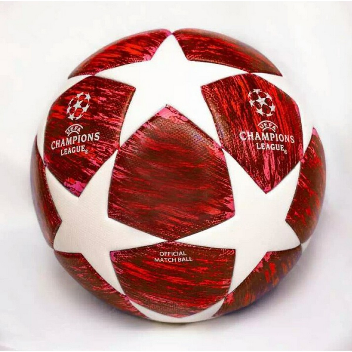 Champions League (RED EDITION) 100% Highest-Quality Thermal  Football