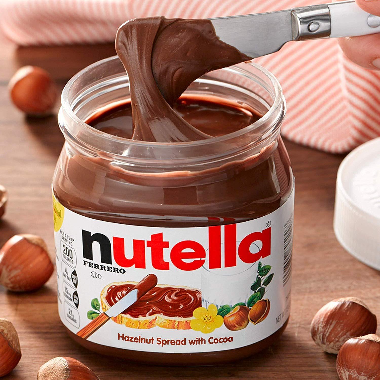 Nutella Hazelnut Spread Jar 350gm