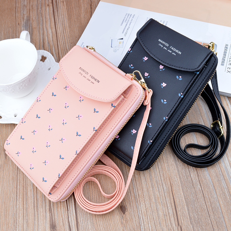 Women Wallet Purses - Ladies Wallet Purses - Stylish Leather Mobile Wallets Purses - Daily Use Hand Purses for Girls