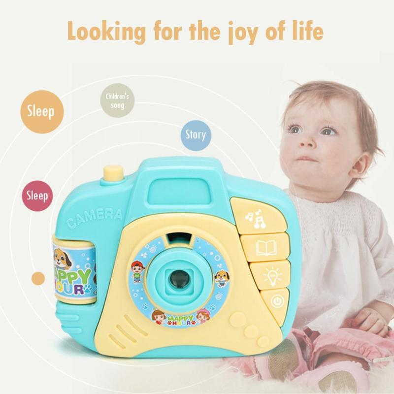 Kids Cartoon Projector Simulated Camera Educational Toy