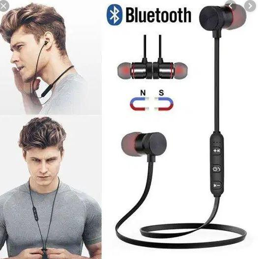Magnetic Stereo Bluetooth Earphone for Wireless Music & Call