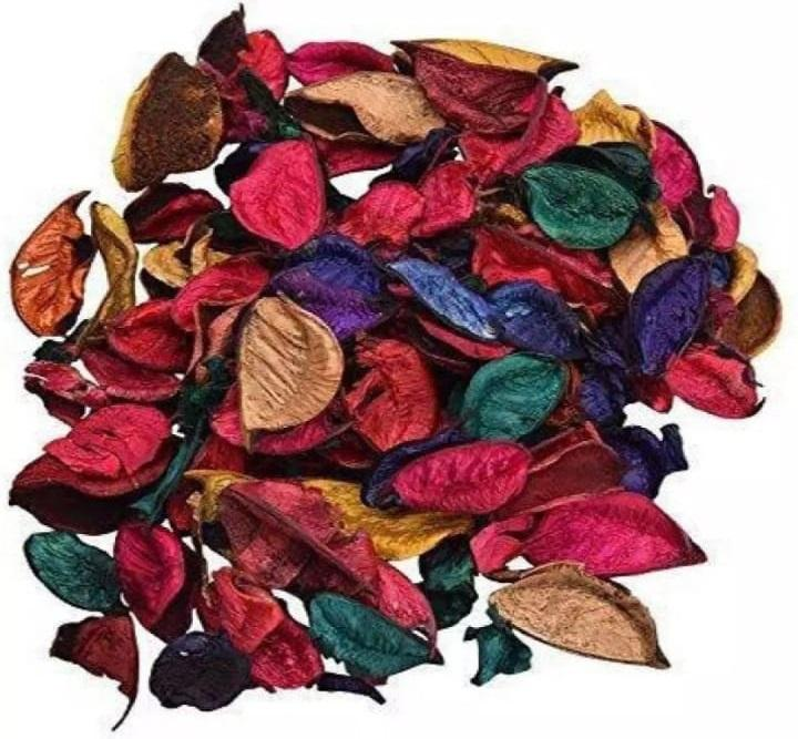 NS Collection-Home Decor Multi Color Potpourri 1000 Leaves for Indoor Outdoor Decoration - Multi Color