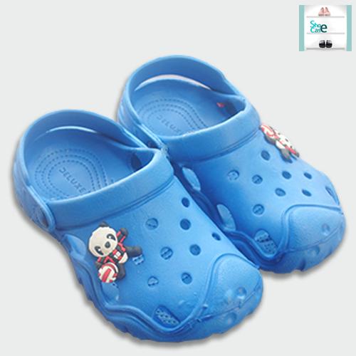 Trendy Crocks Shoe for Kids - Blue Color Crocs