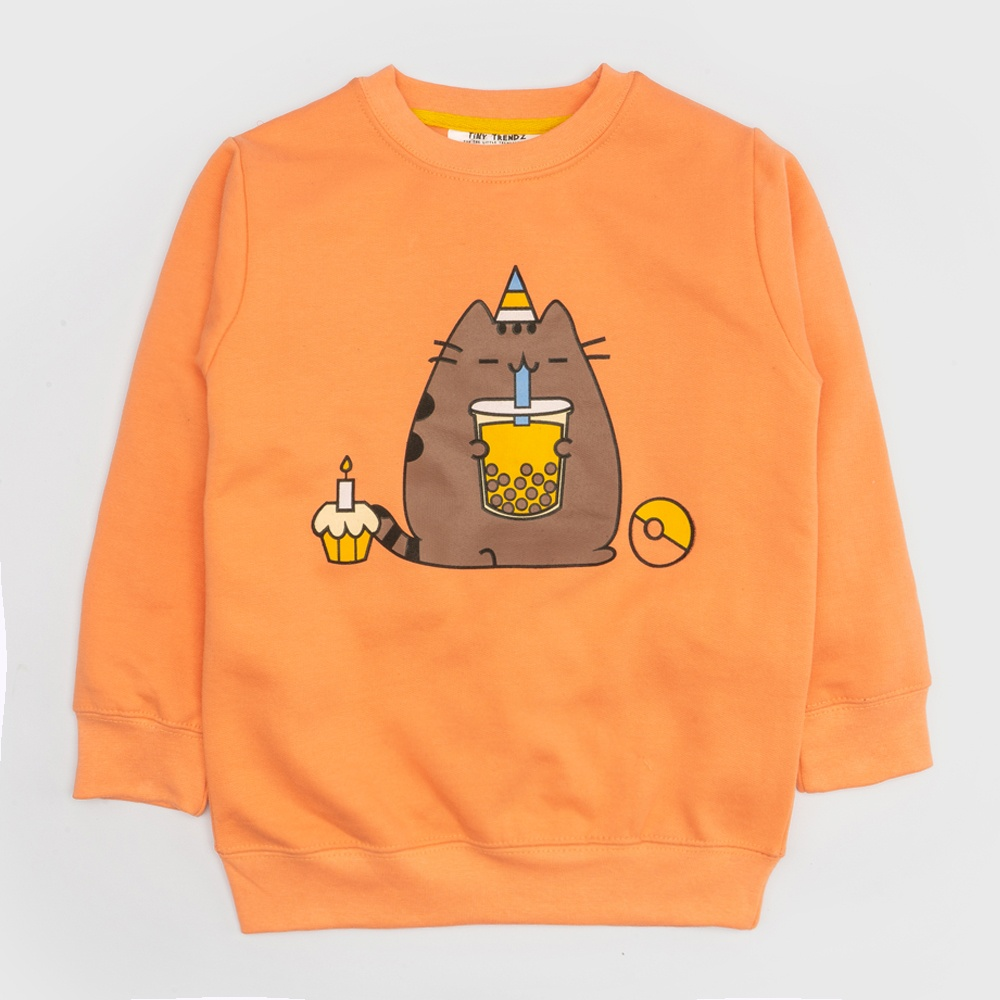 Kids premium fleece Sweatshirt for boys and girls.