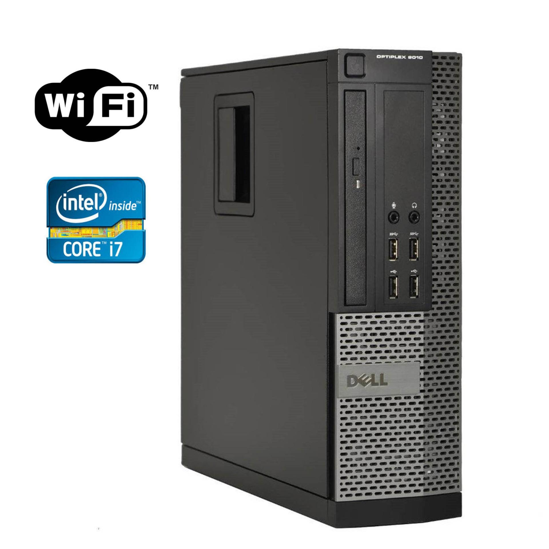 Dell Optiplex 9010 Desktop Intel Core I7 3 40 Ghz Processor - Turbo 3 9Ghz  3Rd Generation