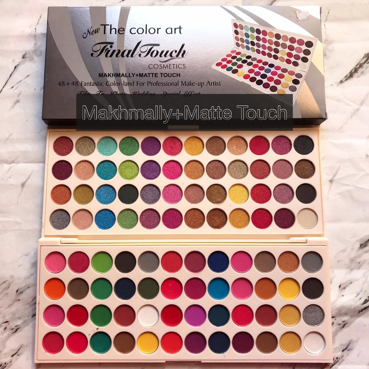 Glowing face Matte Shimmer 96 color eyeshadow palette