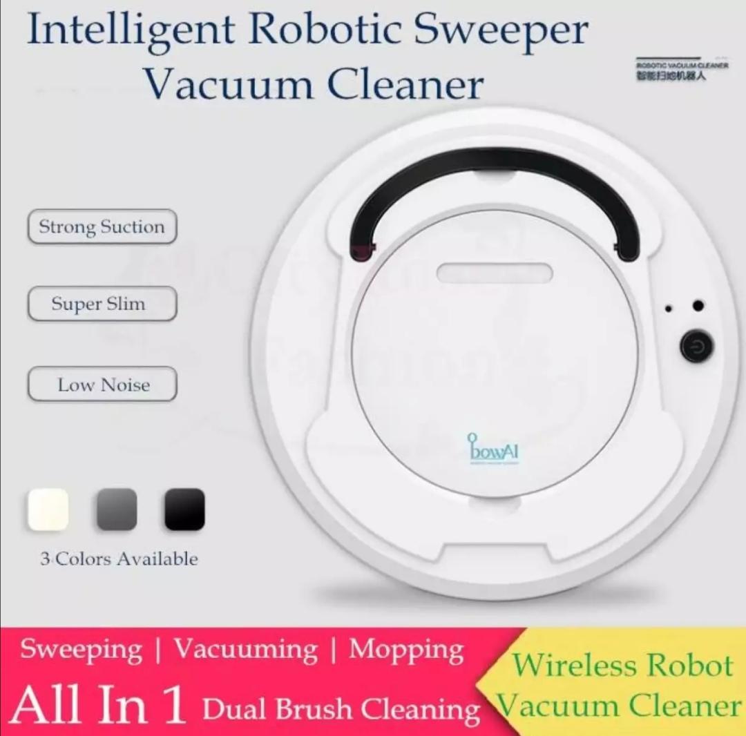 Robot Vacuum Cleaner Household Smart Sweeper Robot with Mopping & Sweeping Quiet,Timing Function,Self-Charging Robotic Vacuum Cleaner for Pet Hair, Hard Floor, Carpet Hardwood Floor