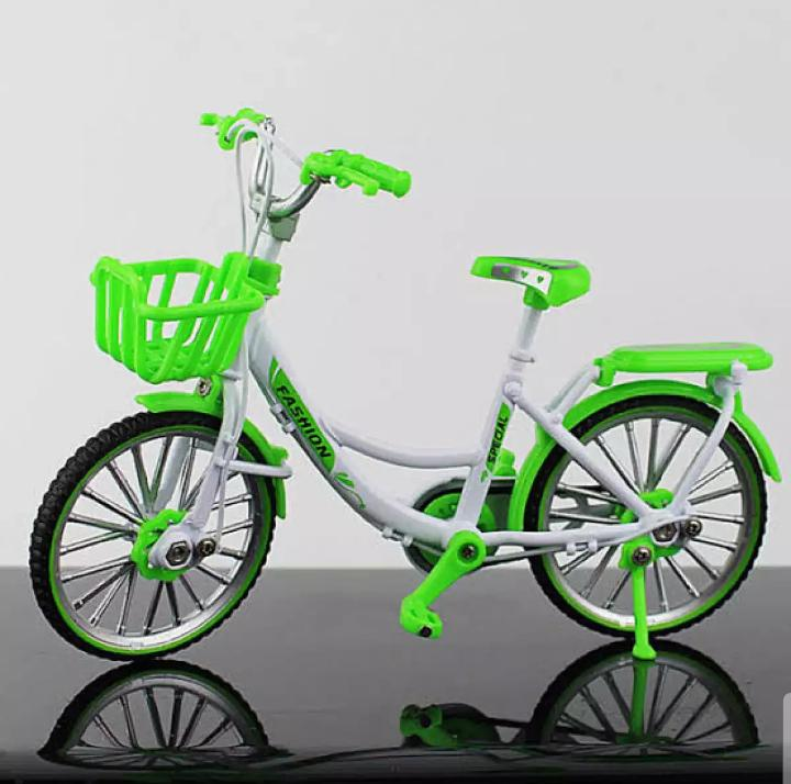 1:10 Metal Bicycle Model Toys city bike Cycle Collection Diecast for Children's Gift